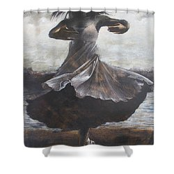 Grace And Movement Shower Curtain