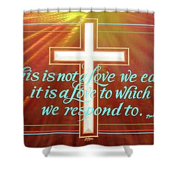 Grace  Shower Curtain by Alan Johnson
