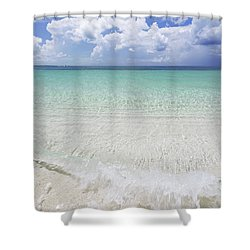 Shower Curtain featuring the photograph Grace by Chad Dutson