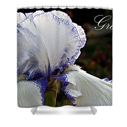 Grace Shower Curtain by Christopher Gaston