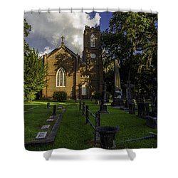 Grace Episcopal Church Shower Curtain by Ken Frischkorn