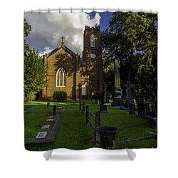 Grace Episcopal Church Shower Curtain
