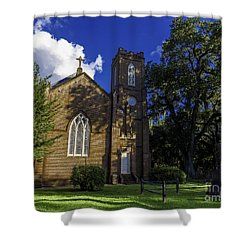 Grace Episcopal Church Two Shower Curtain by Ken Frischkorn