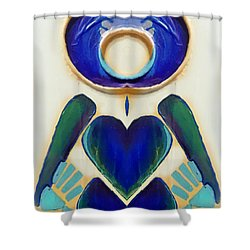 Grace Freed Shower Curtain
