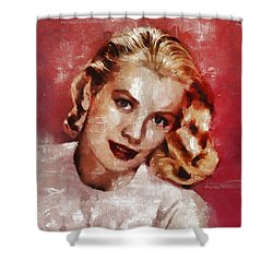 Grace Kelly, Actress And Princess Shower Curtain