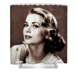 Grace Kelly, Actress, By Js Shower Curtain
