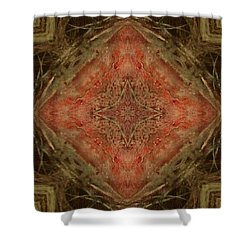 Grace Mandala Shower Curtain