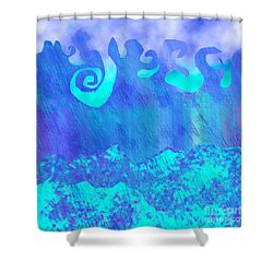 Grace Of Rain Shower Curtain
