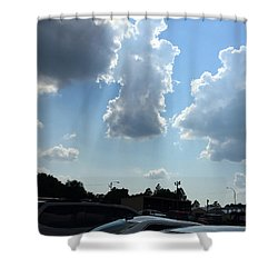 Grace Of The Angels  Shower Curtain