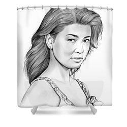 Grace Park Shower Curtain