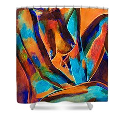 Graceful Lady Shower Curtain
