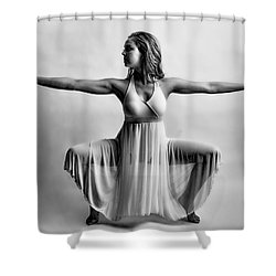 Graceful Legs Shower Curtain