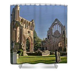 Graceful Ruins. Dryburgh Abbey. Shower Curtain