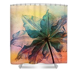 Shower Curtain featuring the digital art Gracefulness by Klara Acel