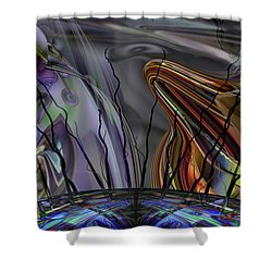 Grade Point Shower Curtain