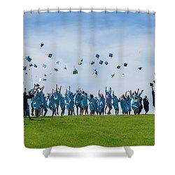 Graduation Day Shower Curtain by Alan Toepfer