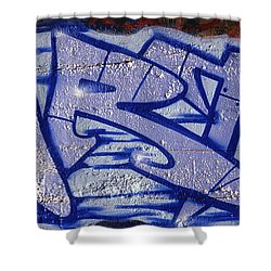 Graffiti Art-art Shower Curtain