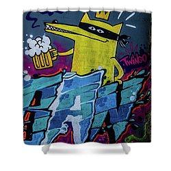 Graffiti_10 Shower Curtain