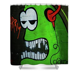Graffiti_12 Shower Curtain
