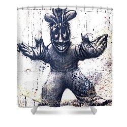 Graffiti_21 Shower Curtain