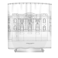 Grafton Station Shower Curtain