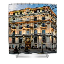 Gran Hotel Havana Shower Curtain