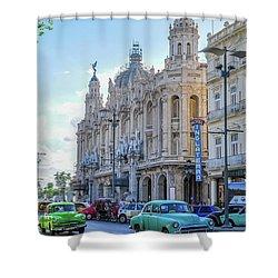 Gran Teatro De La Habana Shower Curtain