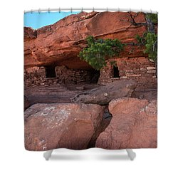 Granaries - 9697 Shower Curtain