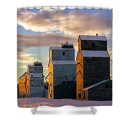 Granary Row Shower Curtain