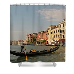 Grand Canal Gondola Shower Curtain