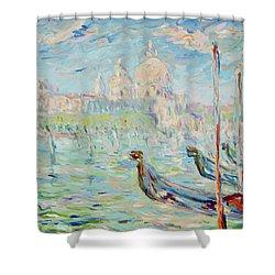Grand Canal Venice Shower Curtain by Pierre Van Dijk