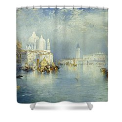 Grand Canal Venice Shower Curtain by Thomas Moran