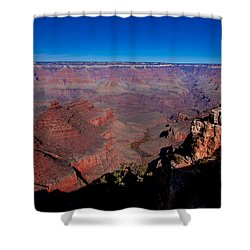 Shower Curtain featuring the photograph Grand Canyon 1 by Donna Corless