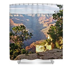 Grand Canyon No. 1 Shower Curtain by Sandy Taylor