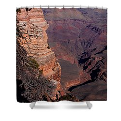 Shower Curtain featuring the photograph Grand Canyon 11 by Donna Corless