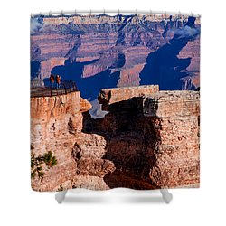 Shower Curtain featuring the photograph Grand Canyon 16 by Donna Corless