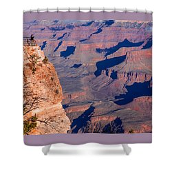 Shower Curtain featuring the photograph Grand Canyon 18 by Donna Corless
