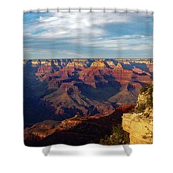 Grand Canyon No. 2 Shower Curtain by Sandy Taylor