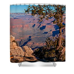 Shower Curtain featuring the photograph Grand Canyon 20 by Donna Corless