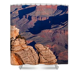 Shower Curtain featuring the photograph Grand Canyon 21 by Donna Corless