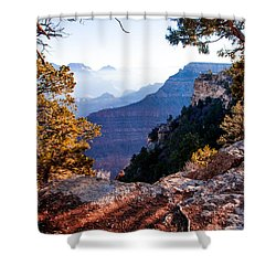 Shower Curtain featuring the photograph Grand Canyon 26 by Donna Corless