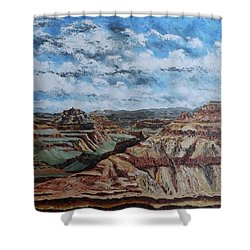 Grand Canyon 3 Shower Curtain