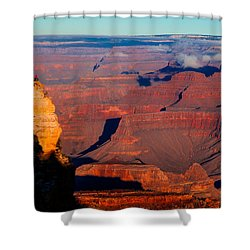 Shower Curtain featuring the photograph Grand Canyon 32 by Donna Corless