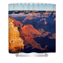 Shower Curtain featuring the photograph Grand Canyon 35 by Donna Corless