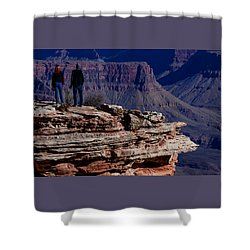 Shower Curtain featuring the photograph Grand Canyon 5 by Donna Corless