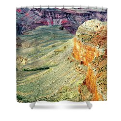 Grand Canyon Abstract Shower Curtain
