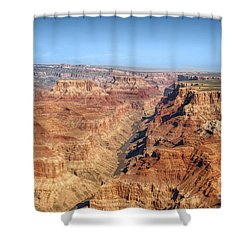 Grand Canyon Aerial View Shower Curtain