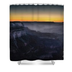 Grand Canyon At Twilight Shower Curtain by RicardMN Photography