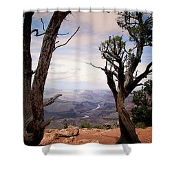 Shower Curtain featuring the photograph Grand Canyon, Az by James Bethanis