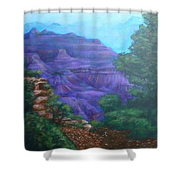 Grand Canyon Shower Curtain by Bryan Bustard
